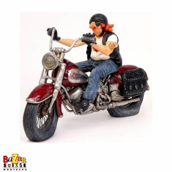 Le Biker - figurine Forchino