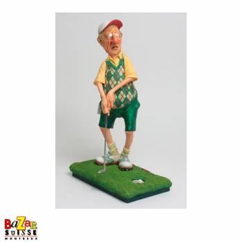 Le golfeur - figurine Forchino