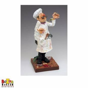 Le cuisinier - figurine Forchino