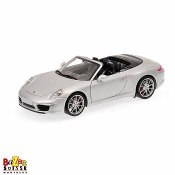 Porsche 911 Carrera S Cabriolet (991) 2012 voiture 1:18 de Minichamps