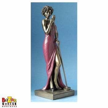 La chanteuse - figurine Le Monde du Jazz