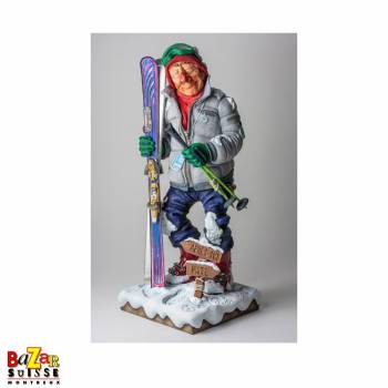 Le Skieur - figurine Forchino