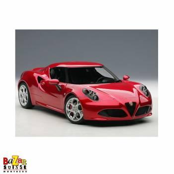Alfa Romeo 4C voiture 1:18 de AUTOart