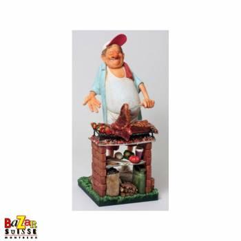 Le Barbecue - figurine Forchino