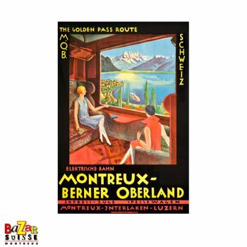 Poster Montreux-Oberland-Bernois