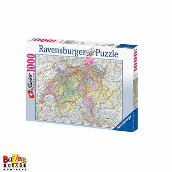 Swiss map - Ravensburger Puzzle