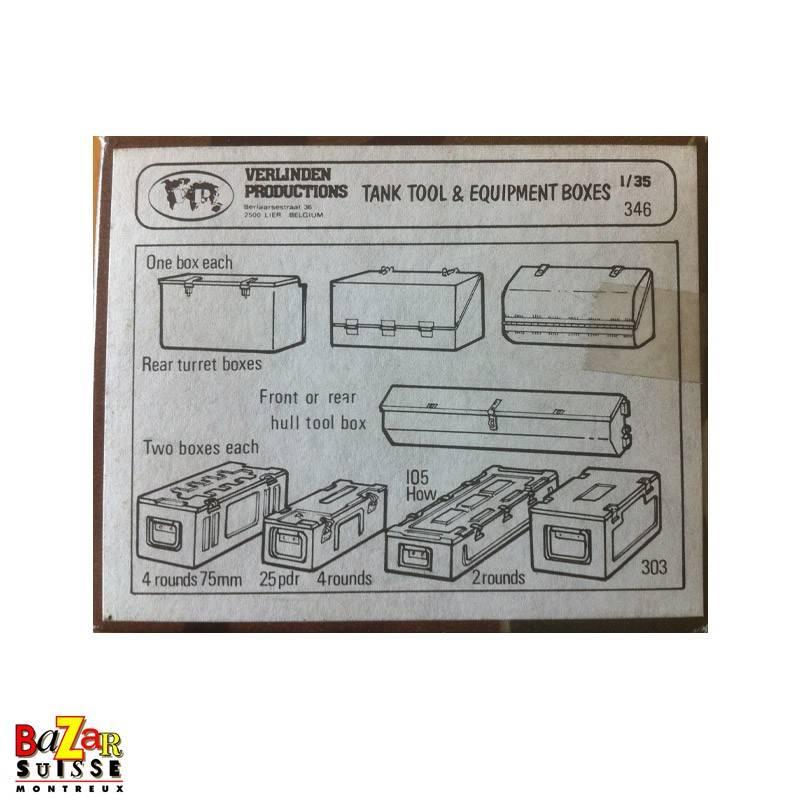 Tank tool & equipment boxes - Verlinden