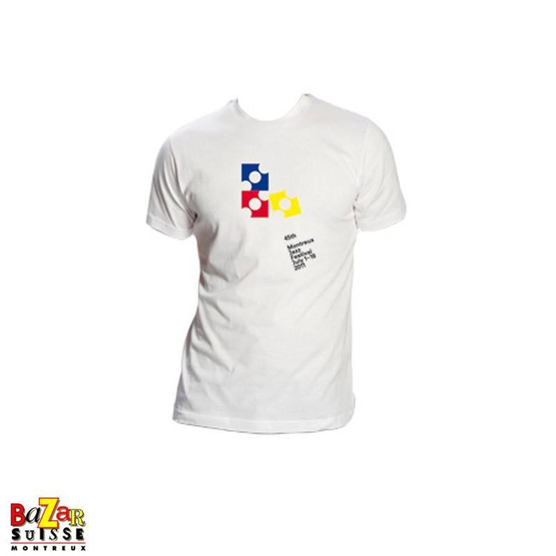 Official 2011 Montreux Jazz Festival T-shirt black