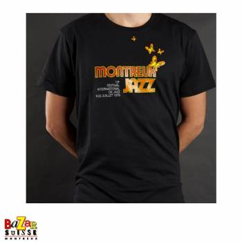 Vintage black Montreux Jazz Festival T-shirt