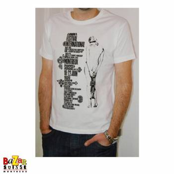 Vintage 1969 Montreux Jazz Festival T-shirt