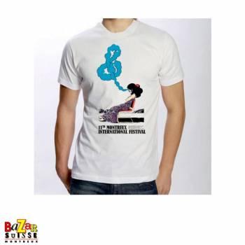 T-shirt vintage du 11ème Montreux Jazz Festival 1977