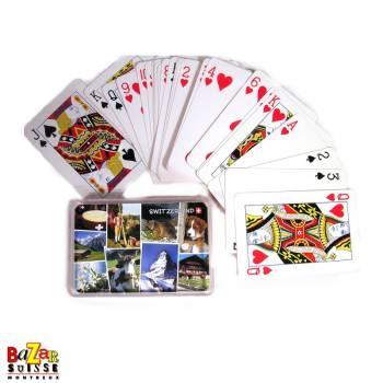 Jeux de cartes - carte suisse