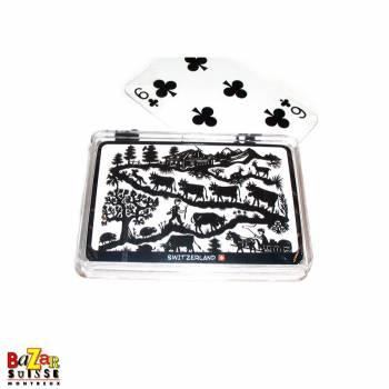 Jeux de cartes - vues suisse