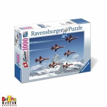 Postbus at Sustenpass - Ravensburger Puzzle