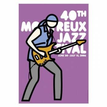 Poster Montreux Jazz Festival 2006