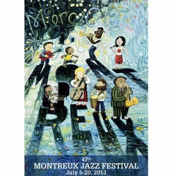 Poster Montreux Jazz festival 2013