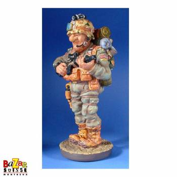 The soldier - figurine Profisti
