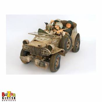 Military patrol Forchino figurine