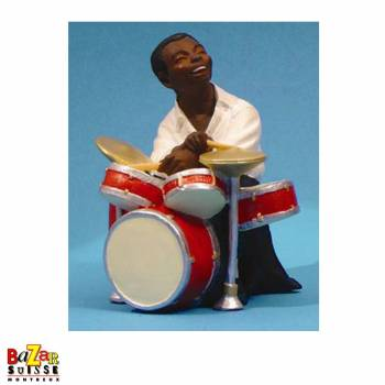The drummer - figurine All That Jazz Small
