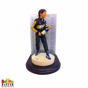 Ayrton Senna Formula-1 driver figurine - World Champion