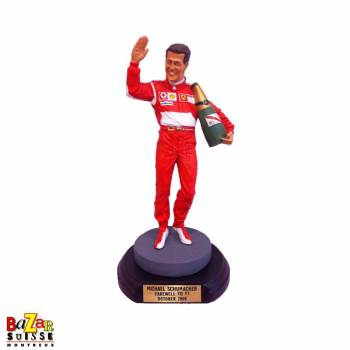 Figurine Michael Schumacher pilote F1 - Farwell