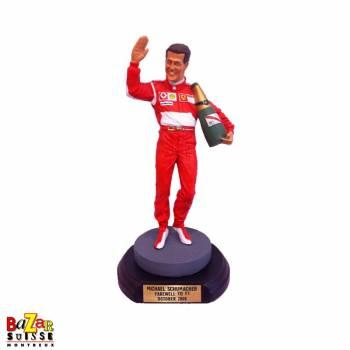 Michael Schumacher Formula-1 driver figurine - Farewell