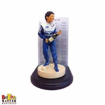 Ayrton Senna Formula-1 driver figurine - World Champion Williams Renault