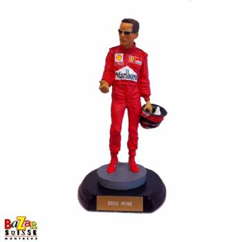 Eddie Irvine Formula-1 driver figurine