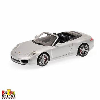 Porsche 911 Carrera S Cabriolet (991) 2012 car 1:18 by Minichamps