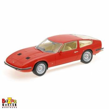 Maserati Indy 1970 car 1:18 by Minichamps