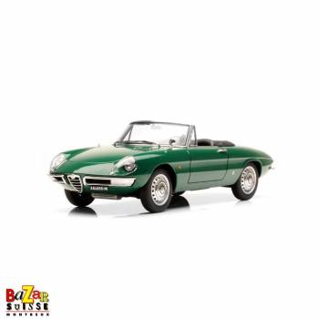 Alfa Romeo 1600 Dueto Spider green car 1:18 by AUTOart