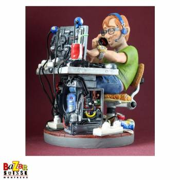 The auto mechanic - figurine Profisti