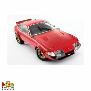 Ferrari 365 GTB/4 - 1977 Daytona 24 Hours car 1:18 by Kyosho