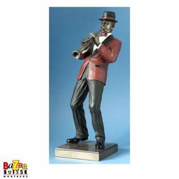Le clarinettiste - figurine Le Monde du Jazz