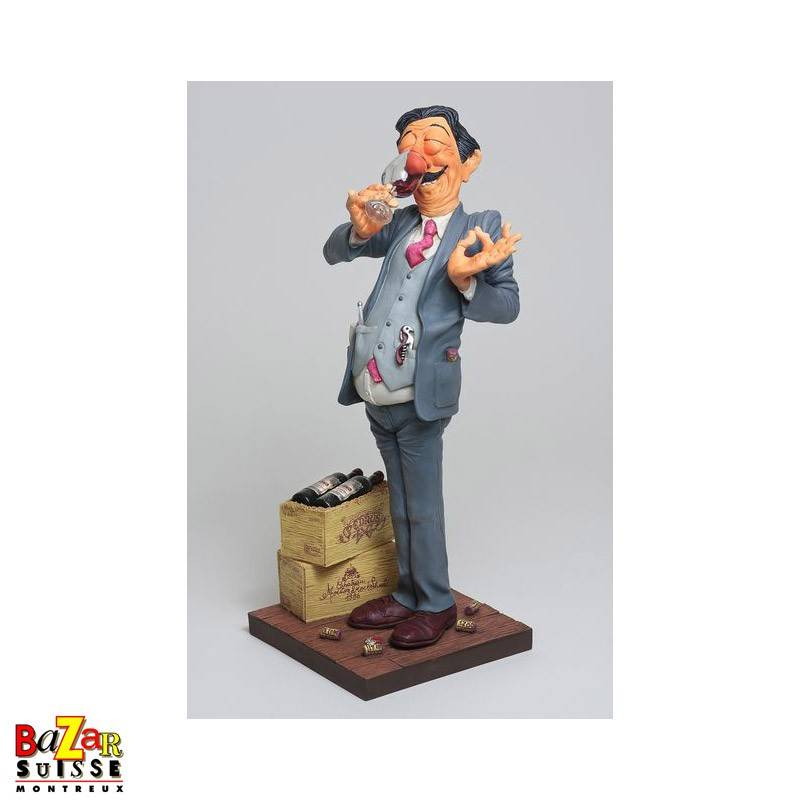 Forchino figurine - The winetaster small