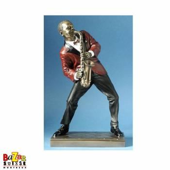 The saxophonist - figurine Le Monde du Jazz