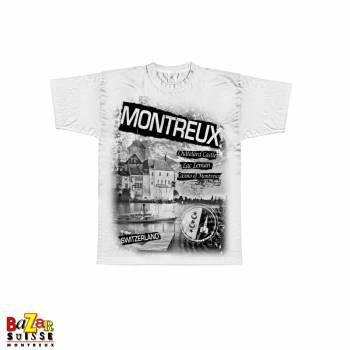 T-shirt Montreux - Switzerland - white