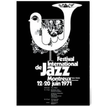 Poster Montreux Jazz Festival 1971