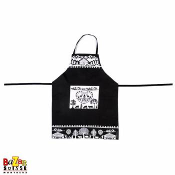 Kitchen apron - 100% Swiss