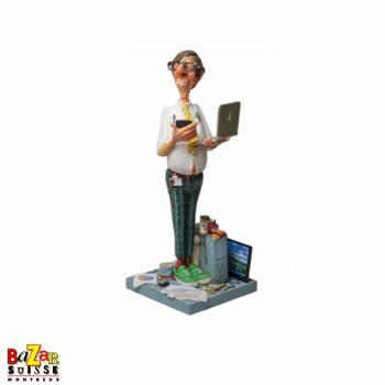 L'expert informatique - figurine Forchino