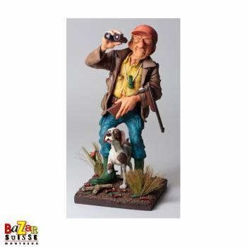 Le chasseur - figurine Forchino