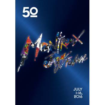 Poster Montreux Jazz festival 2016