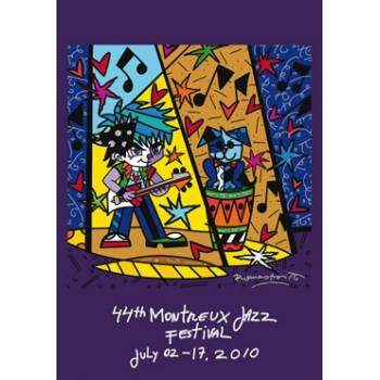 Poster Montreux Jazz Festival 2010