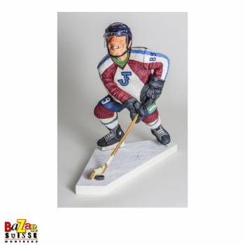 Le Hockeyeur sur glace - figurine Forchino