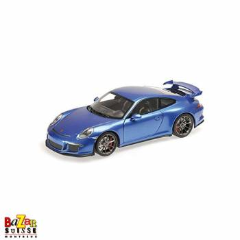 Porsche 911 GT3 - 2013 car 1:18 by Minichamps