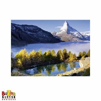 Le Cervin et le Lac Grindjisee - Puzzle Ravensburger