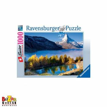 Matterhorn from Lake Grindji - Ravensburger Puzzle