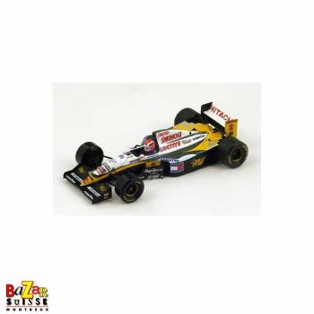 Lotus 109 N°12 Belgium GP 1994 voiture 1:43 by Spark