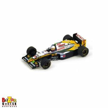 Lotus 109 N°12 Belgium GP 1994 voiture 1:43 by Spark