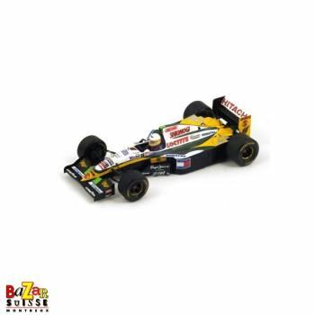 Lotus 109 N°12 Belgium GP 1994 voiture 1:43 de Spark